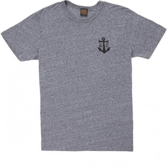 Dark Seas Ballistic T-Shirt - Heather Grey