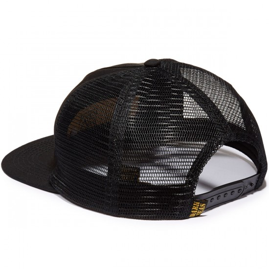 Dark Seas Deck Plate Hat - Black