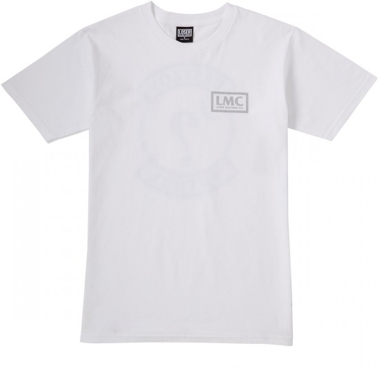 Loser Machine Dont Ask T-Shirt - White