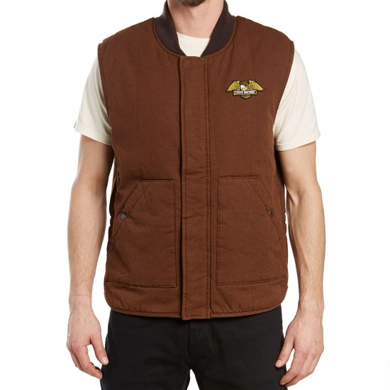 Loser Machine Condor II Vest Jacket - Brown