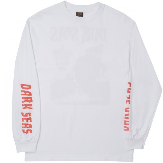 Dark Seas Certain Death Long Sleeve T-Shirt - White