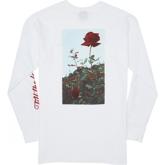 Loser Machine Lost Life Long Sleeve T-Shirt - White
