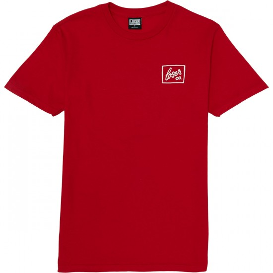 Loser Machine Badlands T-Shirt - Red