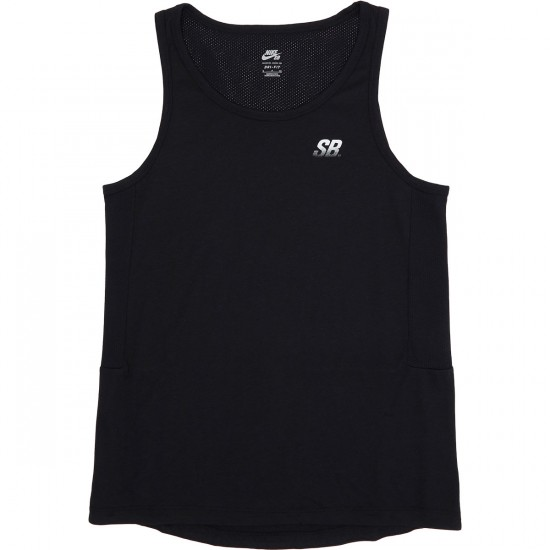 Nike SB Dry Skyline Tank Top - Black/White