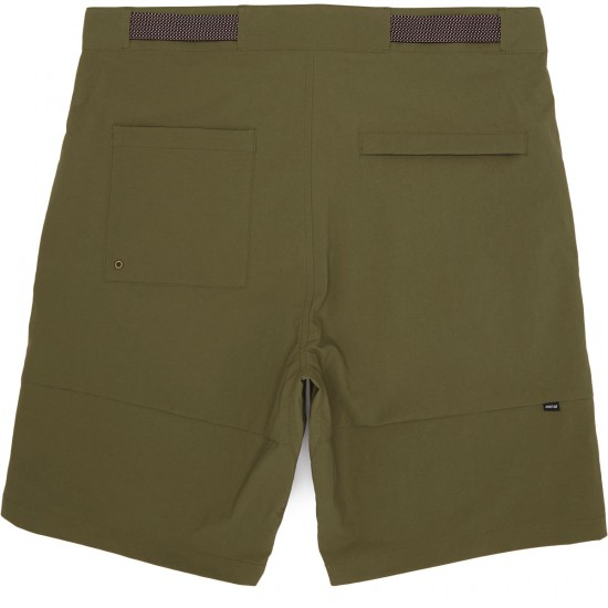 Nike SB Flex Everett Shorts - Medium Olive