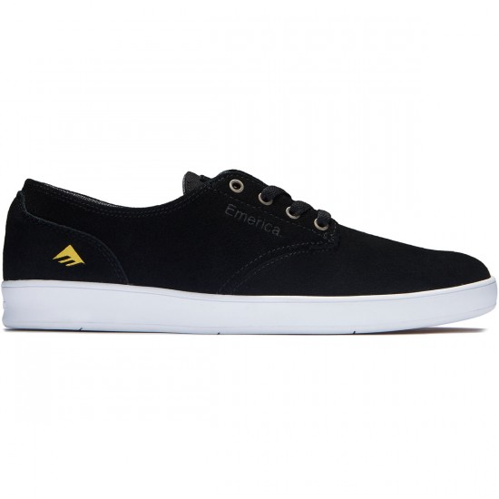 Emerica The Romero Laced Shoes - Black/White - 9.0