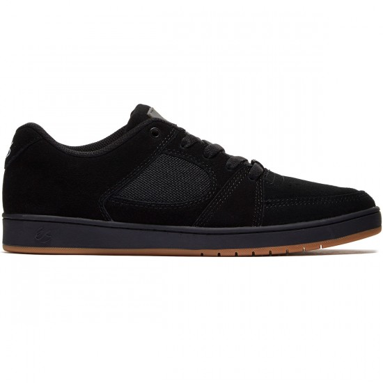 eS Accel Slim Shoes - Black/Black/Gum - 10.0