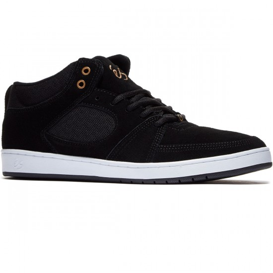 eS Accel Slim Mid Shoes - Black - 10.0