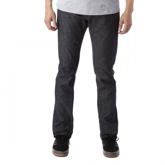 Obey New Threat Denim Pants - Raw Indigo - 30 - 32