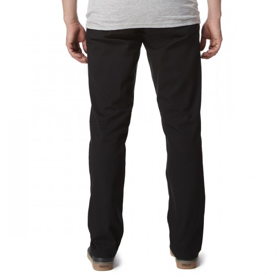 Obey Good Times Pants - Black - 30 - 32
