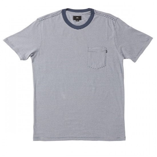 Obey Wisemaker Pocket T-shirt - Navy Multi
