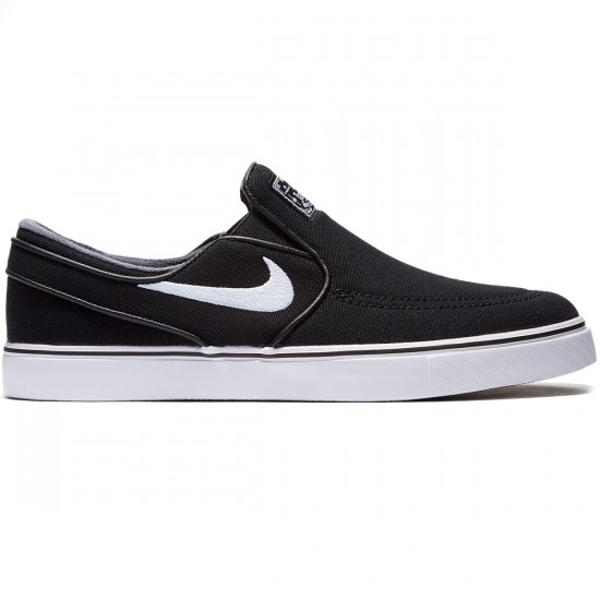 Nike Zoom Stefan Janoski Slip-On Shoes - Black/Black/White - 6.0
