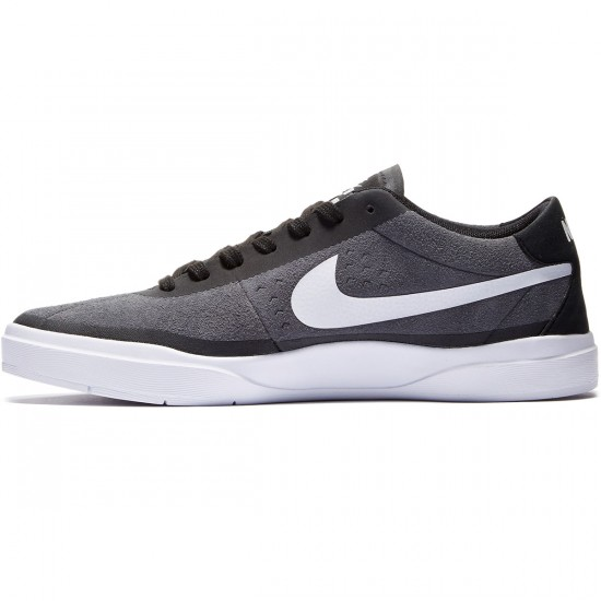 Nike SB Bruin Hyperfeel Shoes - Dk Grey/Black/White - 7.0