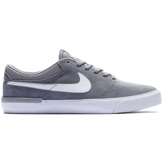 Nike SB Koston Hypervulc Shoes - Cool Grey/White/Wolf Grey - 8.0