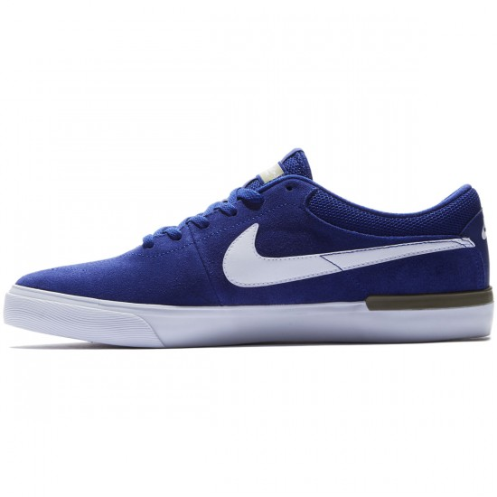 Nike SB Koston Hypervulc Shoes - Deep Royal Blue/Olive/White - 10.5