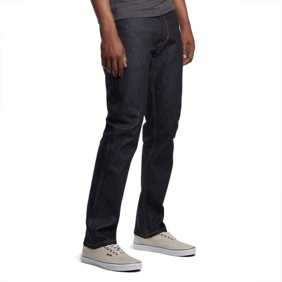 Levi's Skate 504 Straight 5 Pocket SE Jeans - Rigid Indigo - 28 - 32