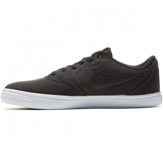 Nike SB Check Solarsoft Shoes - Black/Cargo/Khaki/latinum - 8.0