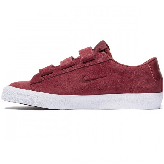 Nike SB X Numbers Zoom Blazer Low AC QS Shoes - Red/Red/White - 13.0