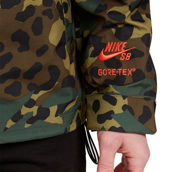 Nike SB Jacket - Gorge Green/Black/Max Orange