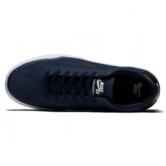 Nike SB Bruin Hyperfeel Shoes - Obsidian/Black/White - 7.0