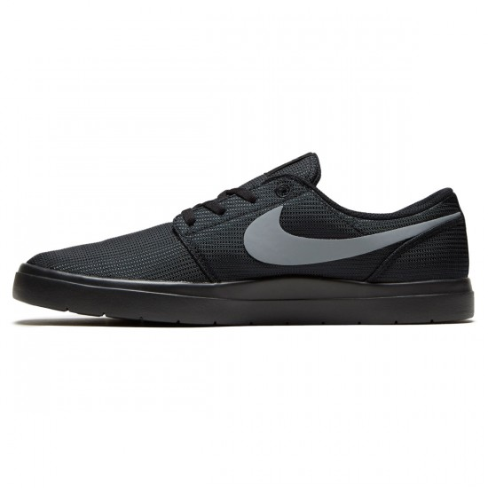 Nike SB Portmore II Ultralight Shoes - Black/Cool Grey - 6.0