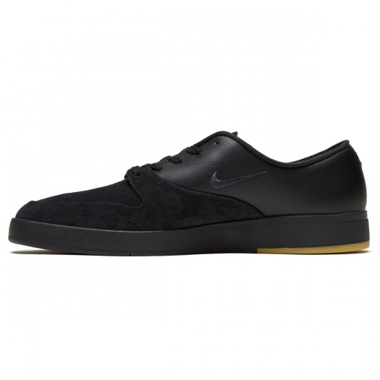 Nike SB Zoom Paul Rodriguez X Shoes - Black/Anthracite/Gum/Light Brown - 6.0