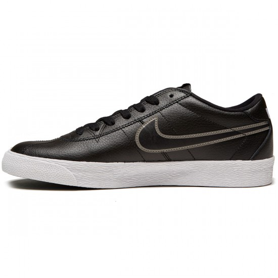 Nike SB Bruin Premium SE Shoes - Black/Black/Metallic Pewter - 8.5