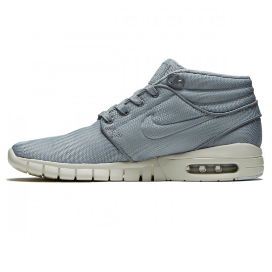 Nike Stefan Janoski Max Mid Shoes - Wolf Grey/Cool Grey - 8.0