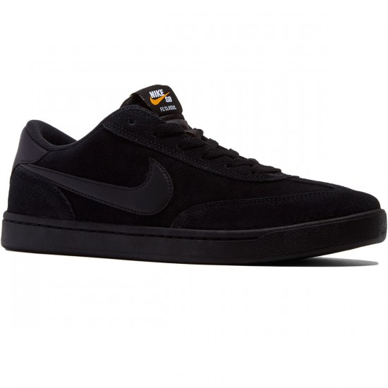 Nike SB FC Classic Shoes - Black/White/Vivid Orange - 8.0