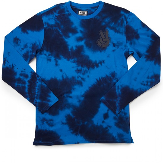 Neff Concord Wash Long Sleeve T-Shirt - Navy