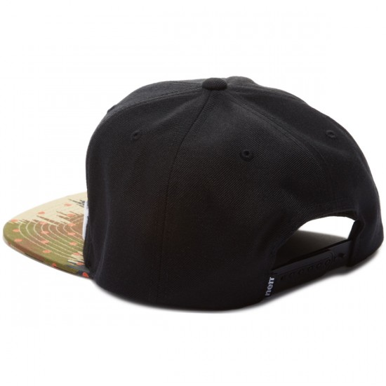 Neff Daily Pattern Hat - Black/Camo Dot