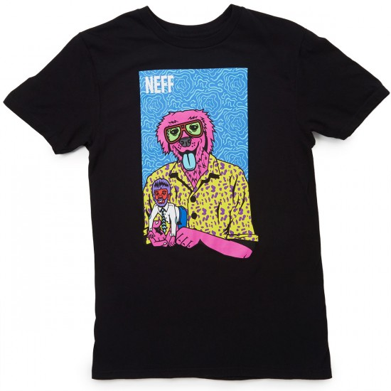 Neff The Weird T-Shirt - Black