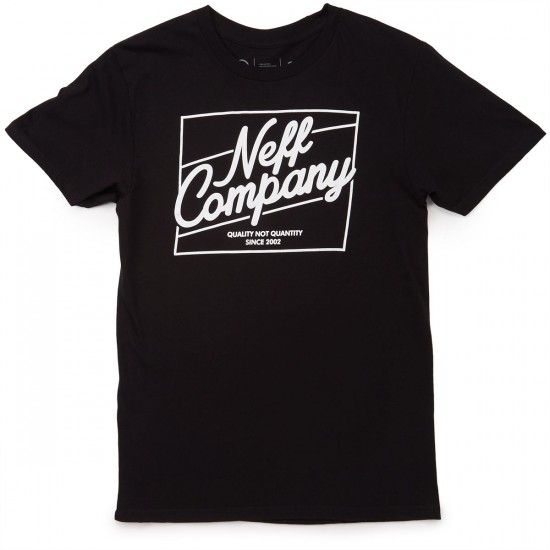 Neff The Deluxe T-Shirt - Black
