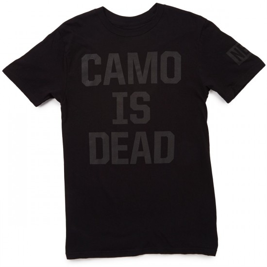 Neff Camo Is Dead T-Shirt - Black