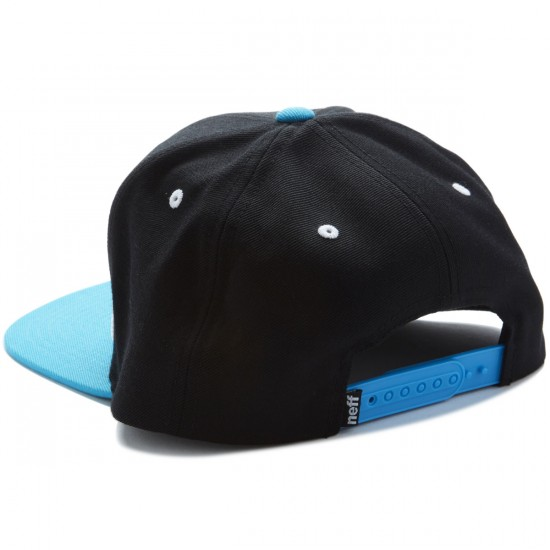 Neff Daily Hat - Black/Cyan