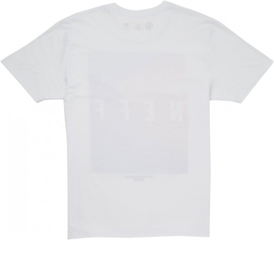 Neff Quad Mountains T-Shirt - White