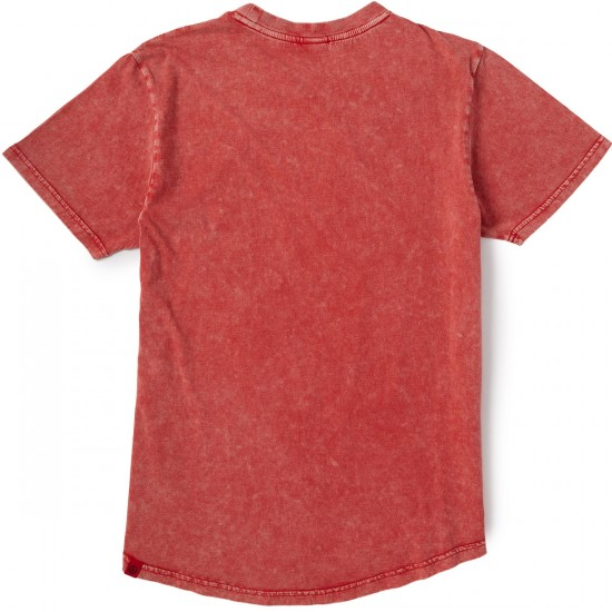 Neff Peace Out T-Shirt - Red
