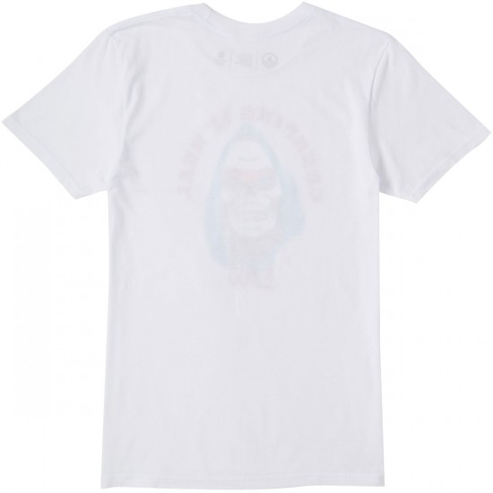 Neff Creepin It Real T-Shirt - White