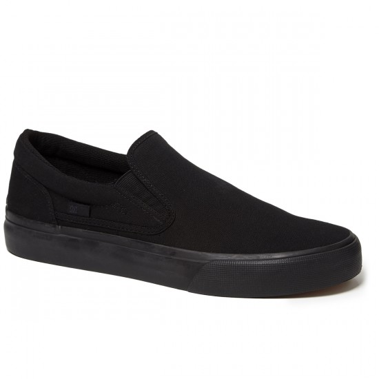DC Trase Slip-On Shoes - Black - 8.5