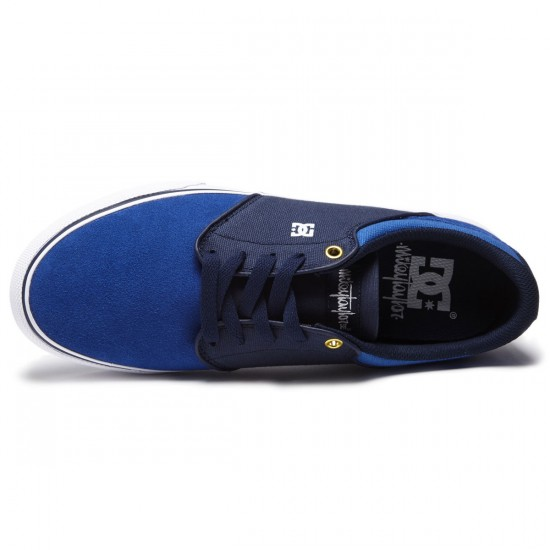 DC Mikey Taylor Vulc Shoes - Royal - 8.5