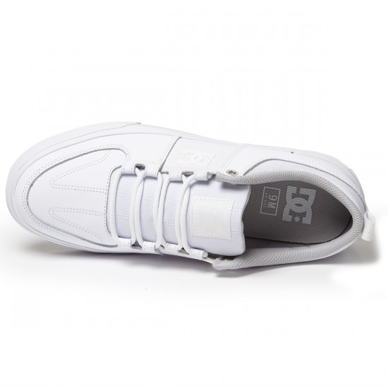 DC Lynx Vulc Shoes - White - 9.0
