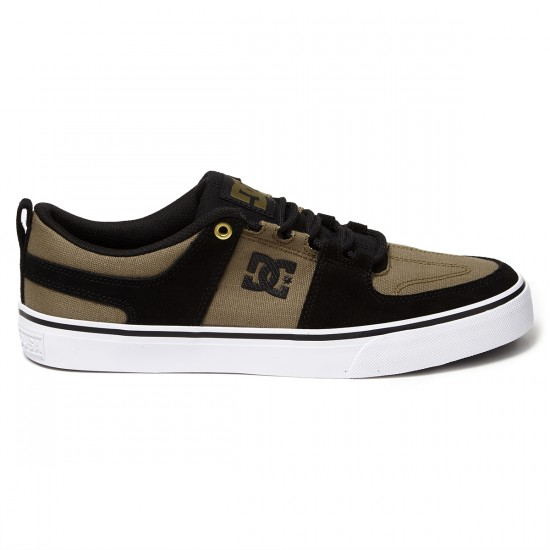 DC Lynx Vulc Shoes - Black/Military - 8.5