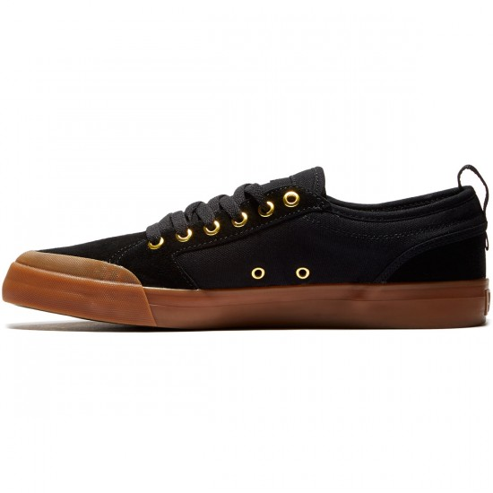 DC Evan Smith Shoes - Black/Gum - 8.0