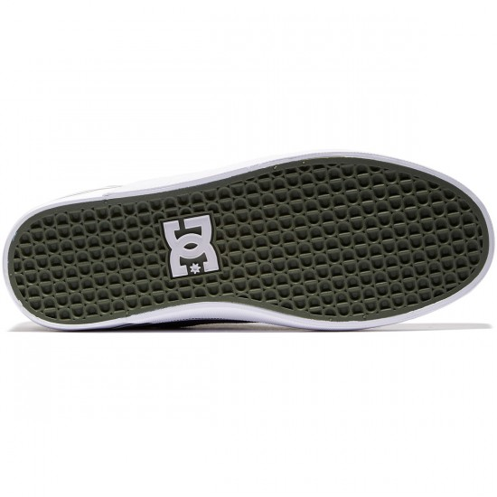 DC Sultan Shoes - Grey/Grey/Green - 8.0