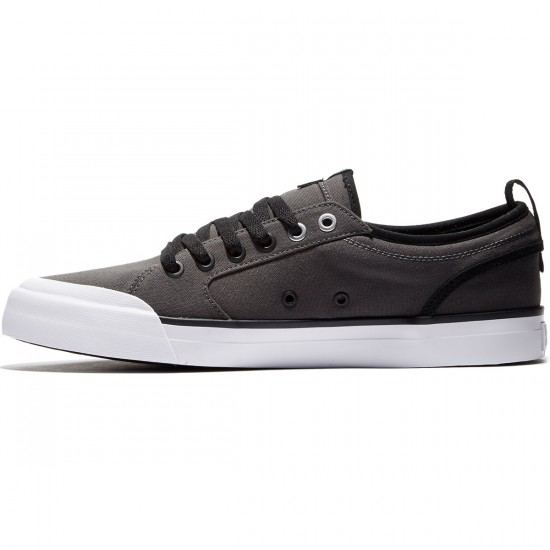 DC Evan Smith TX Shoes - Grey/Black - 8.0