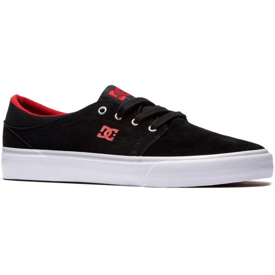 DC Trase Shoes - Black/Red - 8.0