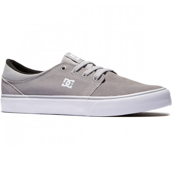 DC Trase Shoes - Grey - 8.0