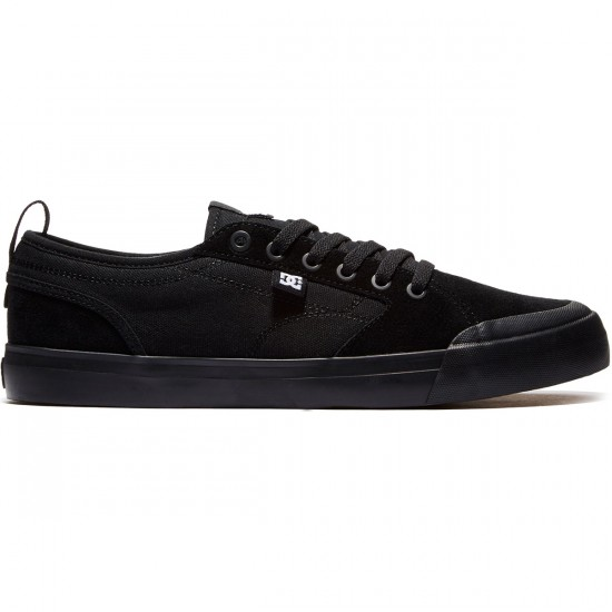 DC Evan Smith Shoes - Black/Black/Gum - 8.0