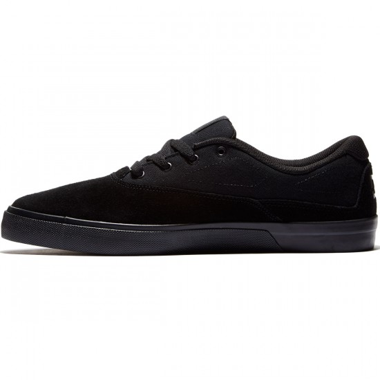 DC Sultan Shoes - Black/Black/Black - 12.0