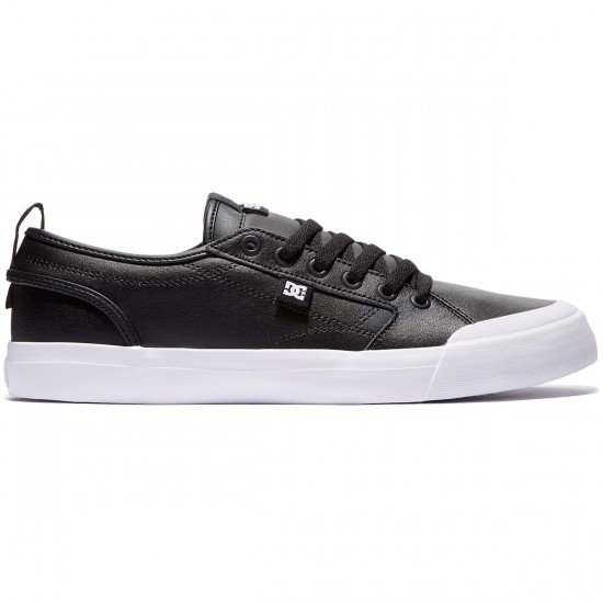 DC Evan Smith Shoes - Black/Black/White - 8.0